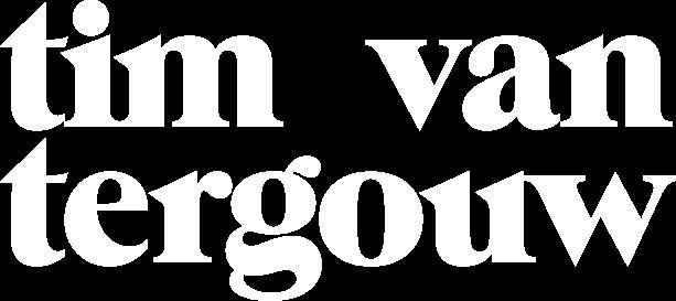 Tim van Tergouw grafisch ontwerp